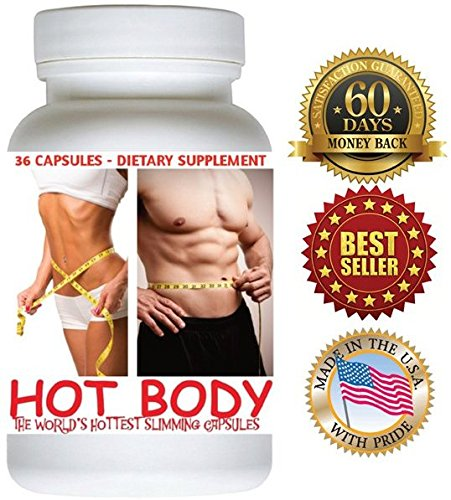 ORIGINAL PRODUCT ONLY SOLD by US MARIPOSA and Fulfilled by . 1 Bottle (36 Capsules) HOT BODY Slimming Capsules. 60 Days Money Back Guarantee! Really Works