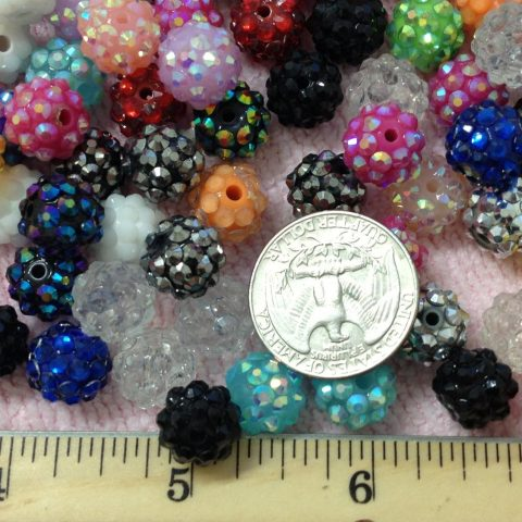 Round Size: about 12mm in diameter