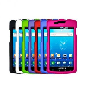 7-in-1 Colorful Rubberized Hard Skin Case Cover Accessories for Samsung Captivate i897 7 rubberized cases for Samsung Captivate i897 Colors may vary slightly due to screen color and brightness settings - 1