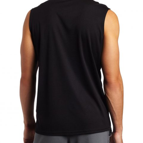 100-percent Polyester Knit Hydrology technology is used in the making Features the Asics logo in the left chest - 2