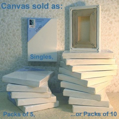Product Description Art Alternatives Studio Stretched Canvas... Natural unbleached medium-weight cotton duck is stretched around specially designed kiln-dried stretcher bars and held in place with a flexible spline allowing these canvases to be painted on all four edges as well as the canvas surface. The surface is triple-primed with acid-free acrylic titanium gesso and staple-free on the sides. Studio Stretched Canvas features a 7/8 edge and is suitable for oil and acrylic painting. #productDescription { font-family: verdana