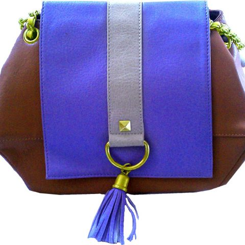 Ashard Richley Clutch Bag Pocketbook Purse Handbag for Women Briefcase Shoulder Bag Fashion Accessories Evening Bag Luxury Purple Violet Tan Brown One Strap Bag Buckle Ashard Richley Pocketbook Bag Shoulder Bag Evening Bag Lavander Brown Color (Purple) Soft To The Touch With Comfortable Handle Fashionably Stylish And Very Roomy with Tassle - 1