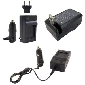 no pictures! Ac/Dc Rapid Travel Charger For Panasonic DMW-BCM13E Batteries.A spare charger is an essential accessory. No power