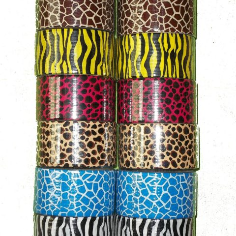2 rolls of each pattern 6 different animal pattern/prints 12 roll assortment Great for crafts - 1