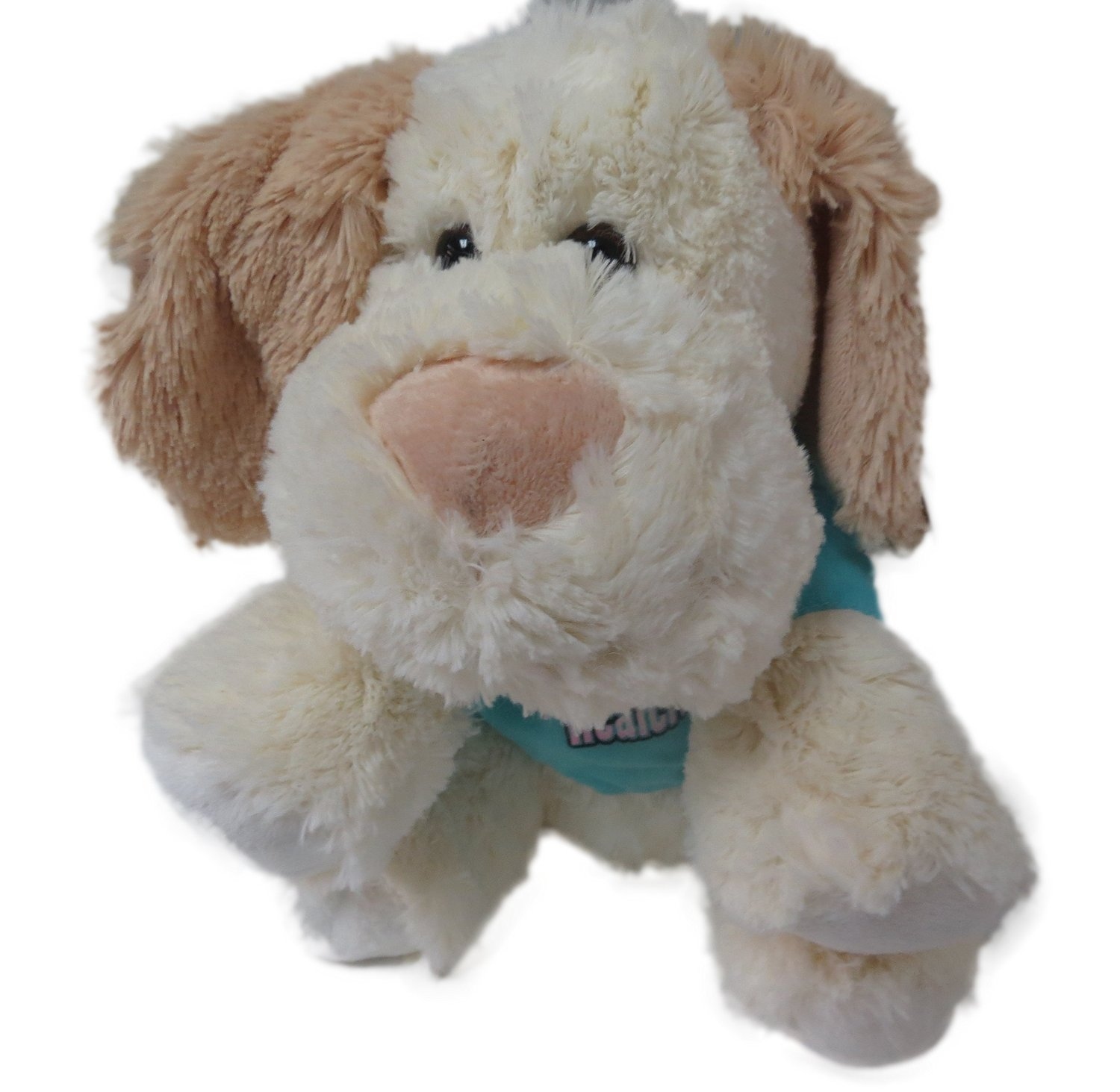 Bedside Healers Healing Plush Animals Heart Nosed Puppy W Blue