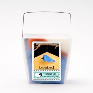 Contains everything to make 2 bluebirds about 3 inches long Packaged in a fun take-out container for gift giving. Made in the USA. Great family craft kit - 1