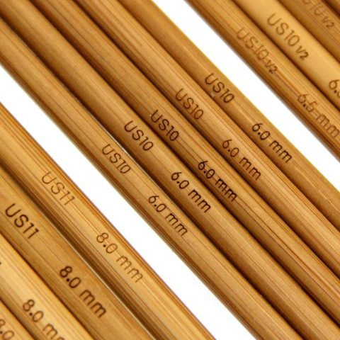 Premium Quality 14 Assorted Sizes Made of Hard Moso Bamboo Super Smooth to Touch Uniformly Shaped Needle Points - 2