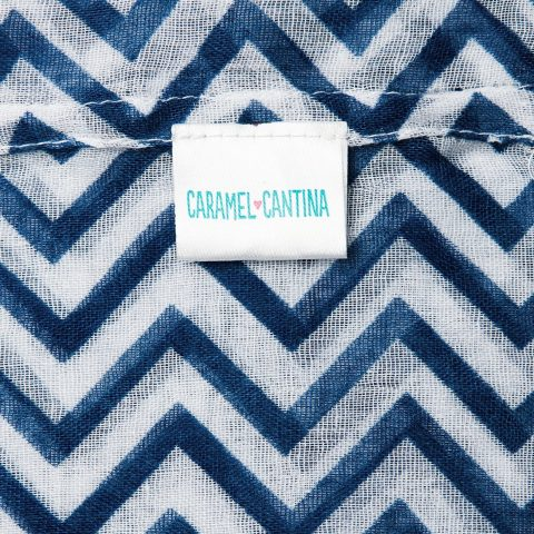 100% Polyester Cotton Cantina Brand Sheer Infinity Chevron Scarf 19 inches wide (approx.) 60 inches loop (approx.) Various Colors Available Semi Sheer Fabric - 2