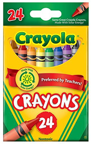 Classic crayons. True hues and intense brightness in primary and secondary colors. Double wrapped for extra strength. Includes key primary and secondary colors Convenient small package Double-wrapped crayon for extra strength Preferred by Teachers Made in America - 1