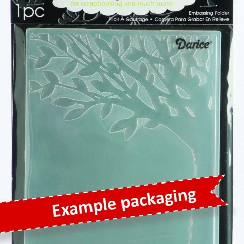 Darice 1216-64 Embossing Folder