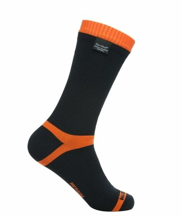 Outer shell - 96 abrasion resistant nylon 3 elastane 1 cuff elastics. Interlining - Porelle waterproof breathable membrane. Inner sock - 40 merino wool 40 anti-pilling acrylic 20 nylon. Performances Waterproof and highly breathable - 1