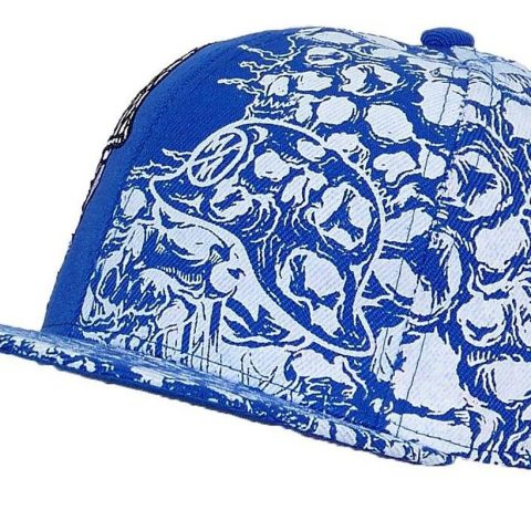 100% Polyester Flat Bill Snapback Closure Embroidery - 2
