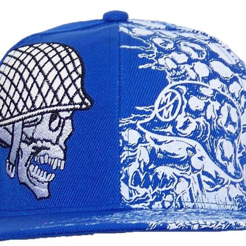 100% Polyester Flat Bill Snapback Closure Embroidery - 1