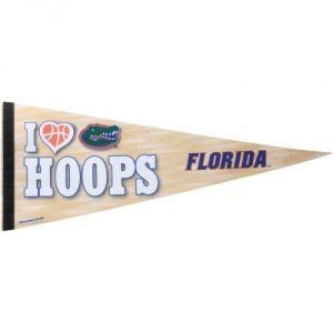 "Distressed Packaging Officially Licensed NCAA Product Made in the USA Measures 12""x30"" Durable Soft Felt - 1"