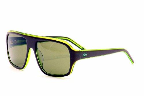 Lacoste Men's L-643-S L643S 210 Brown/Green Sport Sunglasses 57mm