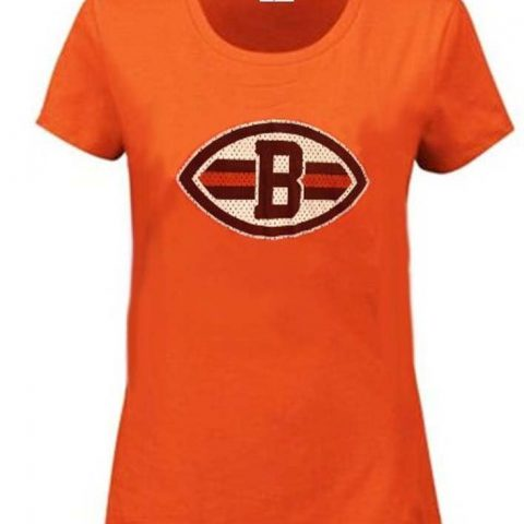 Officially Licensed NFL Apparel Screen Print Browns/Manziel Name and Number 2 Machine Washable Color: Orange Available in Plus Sizes M-4XL - 2