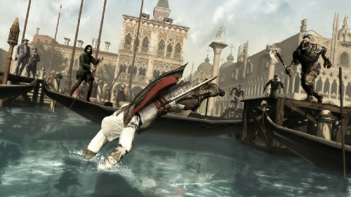 shadowed world of the assassin with new assassin Ezio Roam freely through the lush and dangerous world of Renaissance-era Italy Do whatever it takes to complete your missions in the game's all-new open world and mission structure Thrive in an environment rich with power