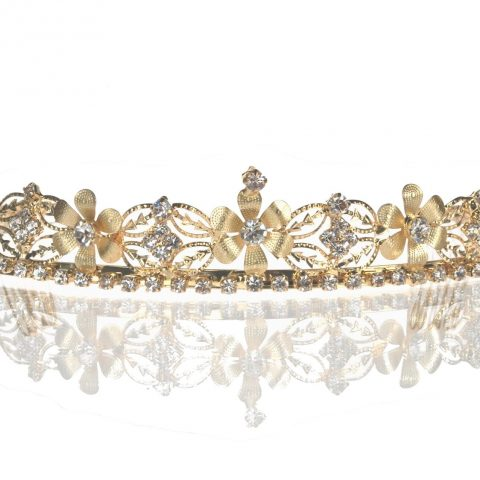 These jeweled tiaras are the perfect accessories for Weddings