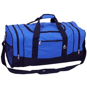 Danaged Packaging Contents P{erfect 600d Polyester Spacious main compartment with zippered clamshell opening Dual zippered side compartments Dual side mesh pockets Front zippered pocket - 2