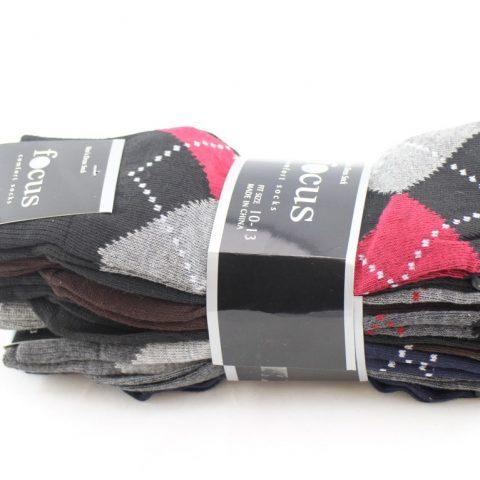 58% Polyester/38% Cotton/2% Spandex/2% Elastic