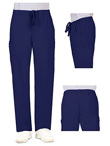 Healing Hands 'Dylan Pant' Navy Small 77% Polyester 20% Rayon 3% Spandex Healing Hands Blue Label For Him - 2