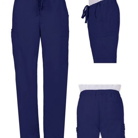 Healing Hands 'Dylan Pant' Navy Small 77% Polyester 20% Rayon 3% Spandex Healing Hands Blue Label For Him - 1