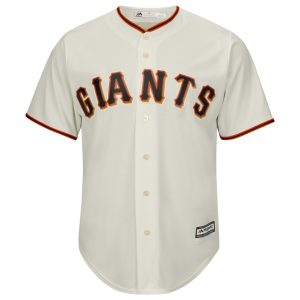 Tim Lincecum San Francisco Giants #55 MLB Youth Cool Base Home Jersey (Youth Medium 10/12) Officially licensed MLB product 100% polyester vivid knit - Machine washable Stitched team name at front - Screen printed player's name and number at back Made with moisture-wicking Cool Base material MLB silhouetted batter patch on enter back neck - 1