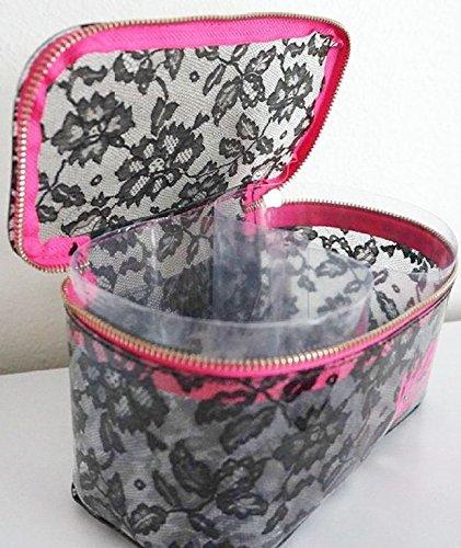 695605804d Victoria s Secret Makeup Bag Cosmetic Bag Lace Medium Train Case Victoria s  Secret Makeup Bag Cosmetic Bag