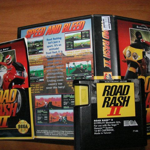 Motorcycle-racing video game in which the player participates in violent illegal street races. - 2