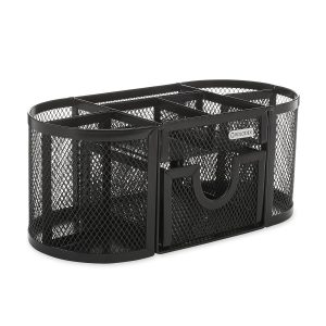 Rolodex Mesh Collection Oval Supply Caddy