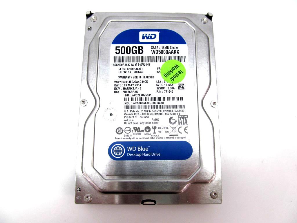 Blue 500gb Desktop Hard Disk Michaelieclark Hdd Harddisk Internal Wd 1tb 35 Sata 3 7200 Rpm Hardisk 1 Tb Drive 6 Gb S 16mb Cache Inch Wd5000aakx Prev