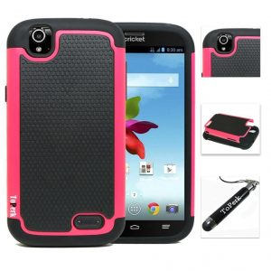 [ ZTE Grand X Z777 ] ToPerk Cyber Grid Armor Case + Free HD Screen Protector ToPerk Stylus Pen As Bundle Sale - Pink The corners are supported by air cushion technology which absorbs and disperses the force through the Silicon. Installation and removal is made easy with material free corners. A Dual Layer build made out of high quality polycarbonate (PC) and soft silicone that helps guard your device against scratches