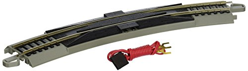 Nickel Silver rail Gray roadbed E-Z Track System --Snaps Together