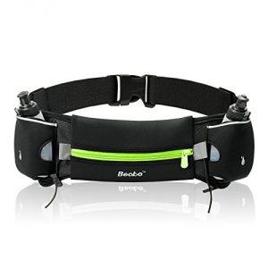 Becko's runner's waist pack is waterproof