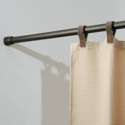 Steel Made In USA Or Imported Adjustable Shower Curtain Tension Rod With Coated