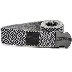 Comfort Fit Elastic/ Felt Herringbone weave pattern LockFit Speed Buckle Logo suede patch near buckle Weatherproof - 1