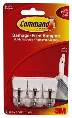 Damage-Free Hanging Holds strongly Removes cleanly Easy to apply and remove Works on a variety of surfaces - 1