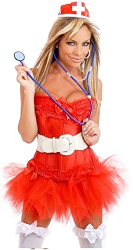 100% Polyester Imported Hand Wash Corset can be worn separately from the costume Corset