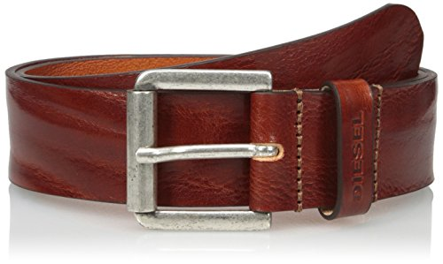 100% Cow Leather Imported Hand Wash Wrinkled leather belt 4 cm Made in Italy Made in Italy - 1