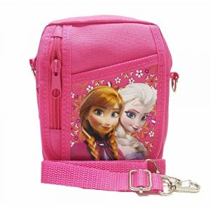 "Size approximately 6.0"" x 6.0"" x 2.0"" Hot Pink Disney Frozen 30 DAYS WARRANTY ( REFUND OR REPLACE YOUR ORDER IF THERE IS QUALITY ISSUE OF BAG IN 30 DAYS of PURCHASE ( NOT EXCESSIVE USE/MISUSE ). MINI SIZE - 2"