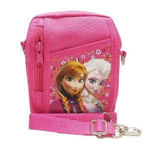 "Size approximately 6.0"" x 6.0"" x 2.0"" Hot Pink Disney Frozen 30 DAYS WARRANTY ( REFUND OR REPLACE YOUR ORDER IF THERE IS QUALITY ISSUE OF BAG IN 30 DAYS of PURCHASE ( NOT EXCESSIVE USE/MISUSE ). MINI SIZE - 1"