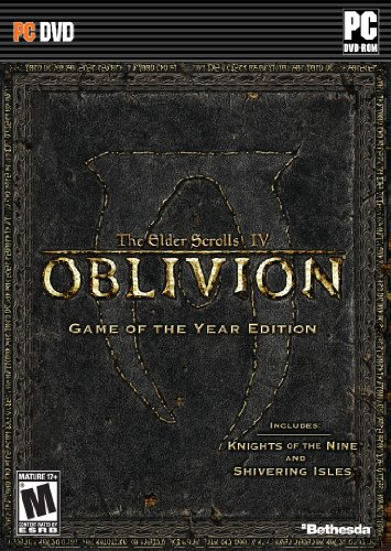 Game Case is damaged. Both disc are in good condition. The Elder Scrolls IV: Oblivion Game of the Year Edition (GotY) for Windows is a compilation of this classic RPG game Oblivion GotY will include the original version of the award-winning RPG Oblivion along with the official expansion