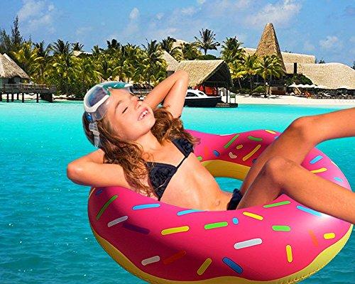 POOL OR BEACH. YOU DESERVE IT! Pink Pool Floaties Beach Or Pool Inner Tube