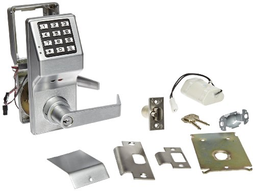Product Features Electronic digital lock leverset is programmable through the keypad or a PC to create 200 user entry codes for secure keyless entry