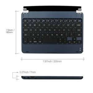 Bluetooth 3.0 Keyboard with Holder /Stand connection with iPad mini