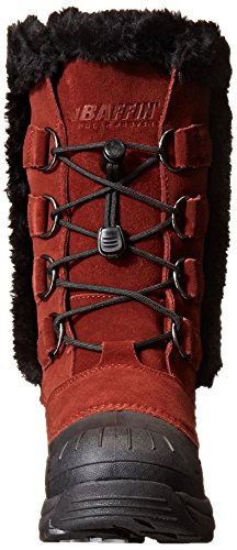 "Leather Imported Rubber sole Shaft measures approximately 10"" from arch Boot opening measures approximately 13"" around Insulated boot featuring D-ring lacing with drawstring toggle closure and faux fur-trim Logo embroidered on tongue - 2"