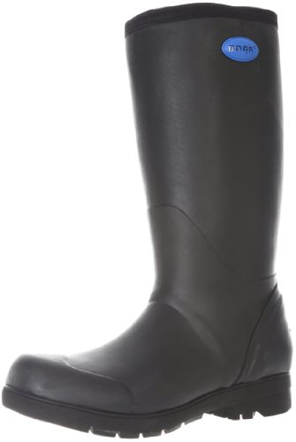 Size - Men's - 9 USRubber Imported Rubber sole Approx. 15'' boot shaft height 100% waterproof construction Chemical-resistant rubber upper Rollable cuff Dual-density