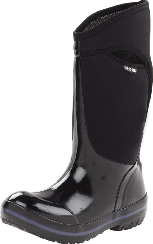 Size - Women's - 7 M US Sleeker look with sneaker-like fit Durable hand-lasted rubber over a four-way stretch inner bootie 7mm waterproof Neo-Tech insulation Bogs Max-Wick lining stays dry and comfortable Dual-density