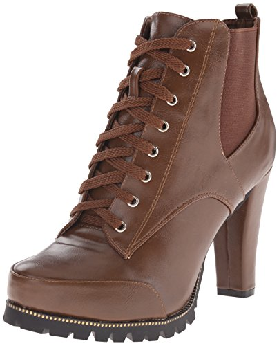 "Size - Women's - 7 M US 100% Synthetic Imported Lug Sole sole Shaft measures approximately 5.5"" from arch Platform measures approximately 0.5 inches Hiker-inspired boot featuring lace-up vamp and tonal-goring side panels Rear pull loop - 1"