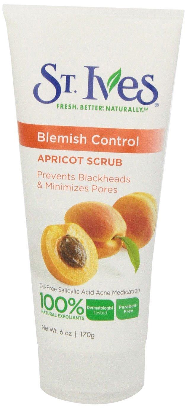 4 Pack St.Ives Naturally Clear Fresh Skin Apricot Scrub 6 Oz Each Hempz Lips Herbal Lip Balm